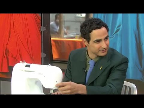 Designer Zac Posen Gives A Sewing Lesson   TODAY