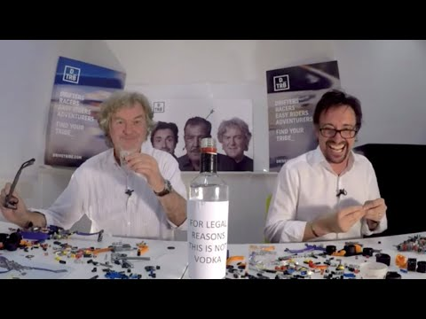 Hammond And May Try To Build Lego Cars While Downing Shots