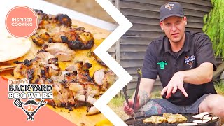 How To Make The Best Barbecue Wrap! | Full Episodes | Dippers Backyard Bbq Wars