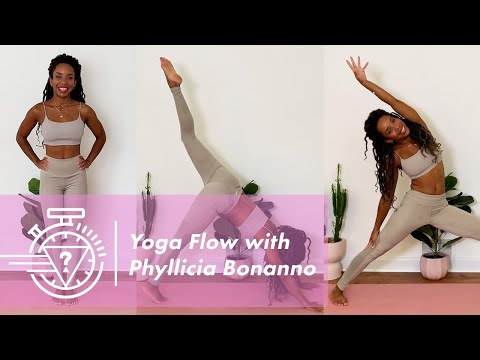 30 Min Full Body Yoga Flow with Phyllicia Bonanno   #GUESSActive