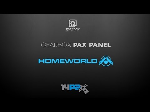 PAX Prime 2014 -- Inside Gearbox Software Panel: Homeworld Remastered