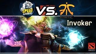 SingSing Pro Invoker Gameplay    sG vs Fnatic Dota 2 Highlights