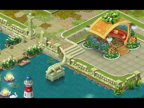 Gardenscapes New Acres Gameplay Story Playthrough Area 6 Day 2 And Day 3 New Waterfall Area