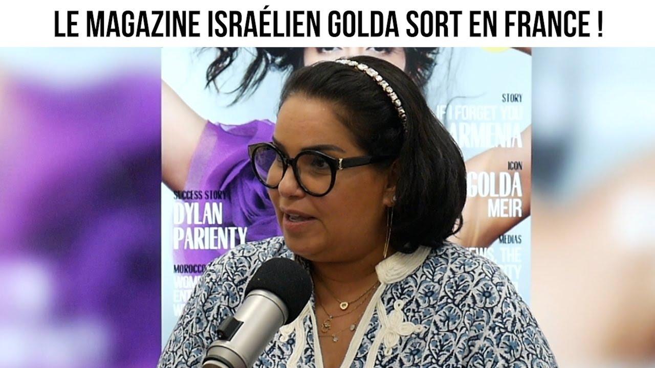 Le magazine israélien Golda sort en France ! - Actuculture#260