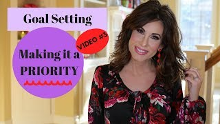 GOAL SETTING | PRIORITIZING | VIdeo #3 thumbnail