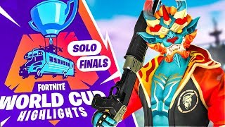 FINALS OF WEEK 1 WORLD CUP HIGHLIGHTS! (Fortnite Battle Royale)