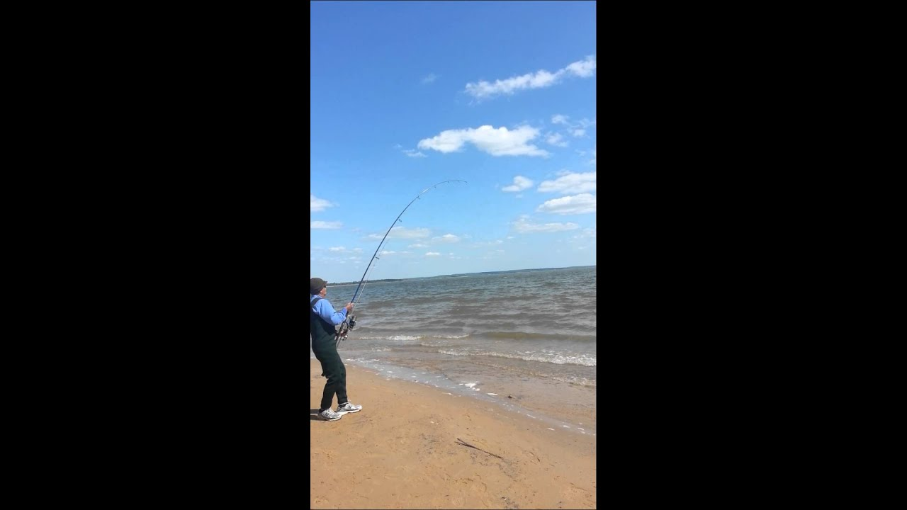 Texoma shore fishing with dad youtube for Texoma fishing license