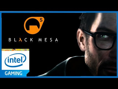 Black MESA ON INTEL HD GRAPHICS