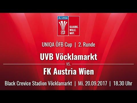 20.09.2017 / 18:30 Uhr UVB Vöcklamarkt (VÖC) vs. FK Austria Wien (AUS)