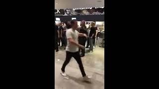 Irish fans vs Russian fans (after Khabibs fight)