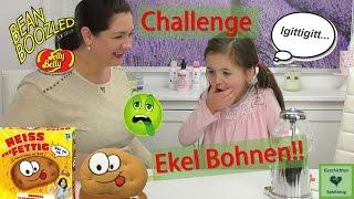 Heisse Kartoffel Challenge & EKEL BOHNEN BESTRAFUNG!! 🤢 Bean Boozled Challenge |  Heiss & Fettig