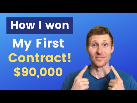 Government Contracts: How I won my first Government Contract