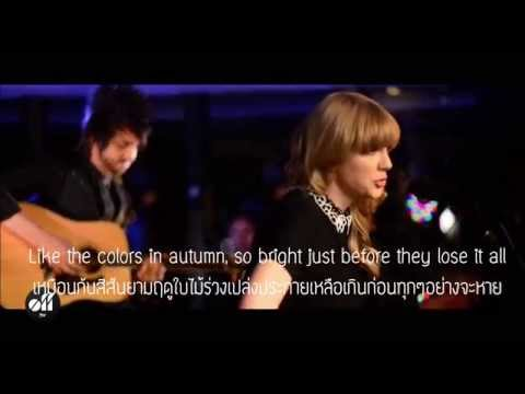 Red - Taylor Swift (ThaiSub)