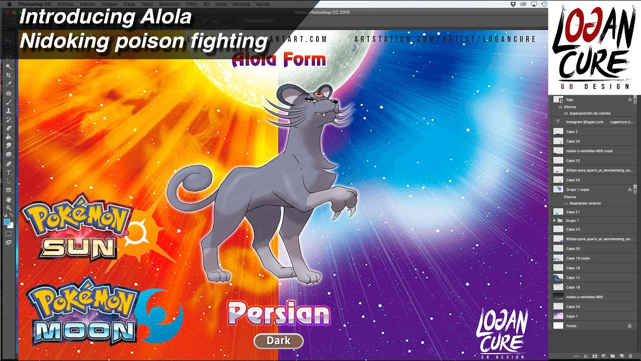 Introducing Alola Persian - Dark type - YouTube