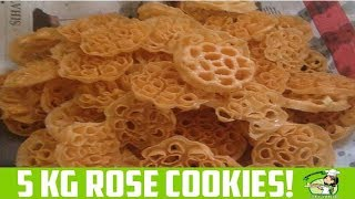5KG Rose Cookies | Achu Murukku made by My Grandma for Deepavali!