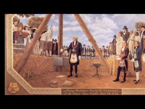 13th October 1792: Cornerstone of the White House laid