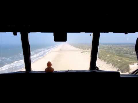 Landing Vejers strand