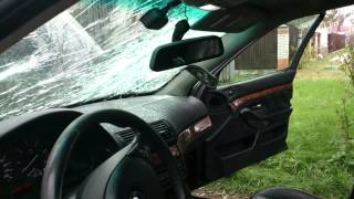 Замена лобового стекла на BMW 525 e39(, 2013-10-23T14:05:31.000Z)