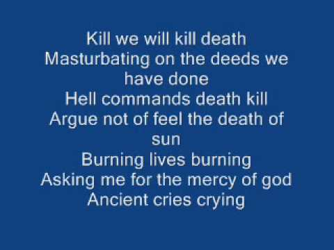 Welcome To Hell By Venom Lyrics