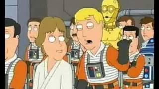 Family Guy: luke skywalker humiliates rebel pilot
