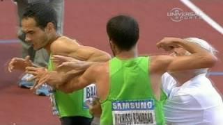 Fist Fight At Track Meet - From Universal Sports