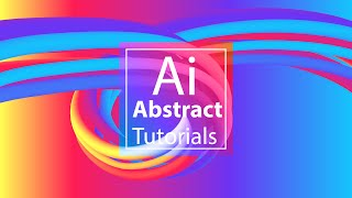 Blend Tool - Abstract Background #3 -  Landing Page - Adobe Illustrator Tutorial