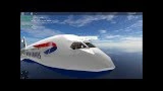 | ROBLOX| SFS Flight Simulator *BA 197* 787-9 Dreamliner (LHR - IAH) Part 1