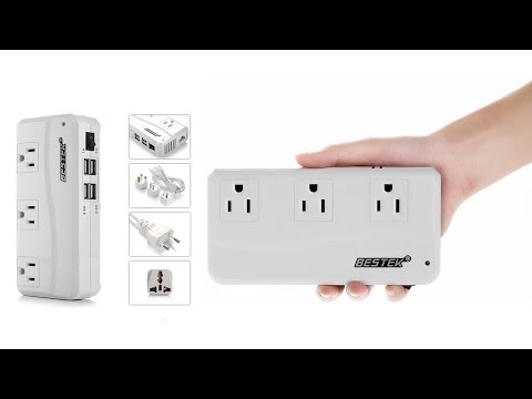 BESTEK Portable International Travel Voltage Converter!