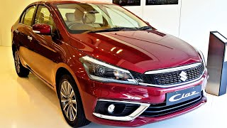 2018 Maruti Suzuki Ciaz Facelift | Pearl Red | Alpha | Price | Mileage | Colours | Features