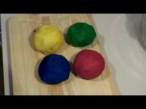 comment faire de la pâte à modeler - YouTube