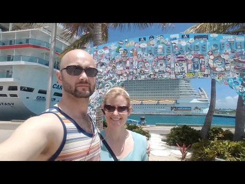 Nassau,  Bahamas - Taking a billion dollar cruise ship to a flea market.