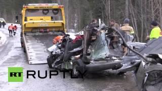 В Норвегии в районе учений НАТО произошло ДТП с участием бронемашины и авто, один человек погиб