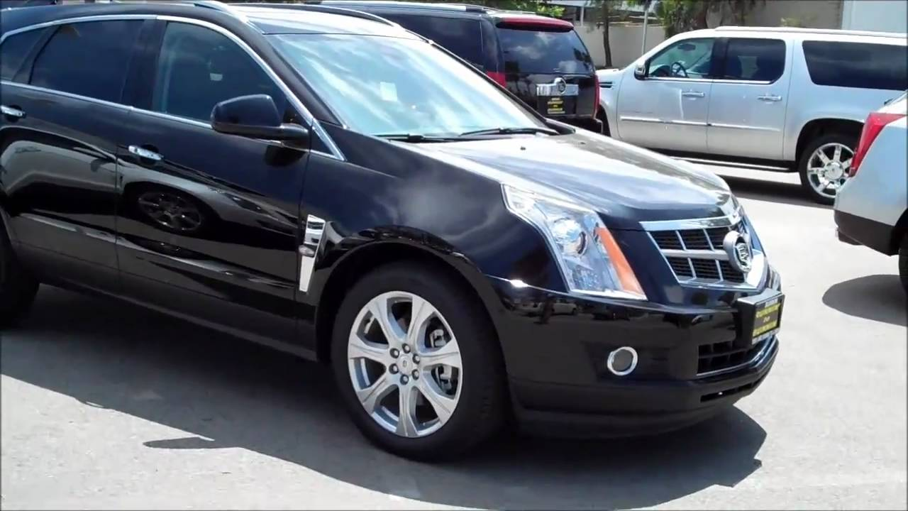 Bunnin Presents  2010 Cadillac Srx In Black Raven