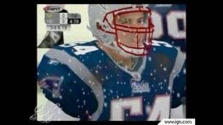 NFL 2K3 GameCube Gameplay - Playing in the snow