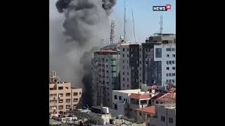 Israeli Airstrike Hits High-rise Building in Gaza Strip; Several International Media Offices Damaged