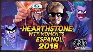MEJORES MOMENTOS HEARTHSTONE ESPAÑOL 2018