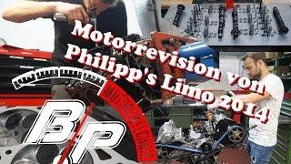 Die Schritte der Motorrevision des RS4 Motors aus der Hannover Hardcore Limo bei BP Motorentechnik