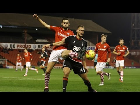 Highlights: Barnsley 2-5 Forest (25.11.16)