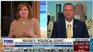 Collins Talks Iran, Impeachment on Mornings With Maria