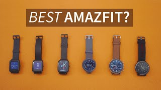 Best Amazfit Watches in India?