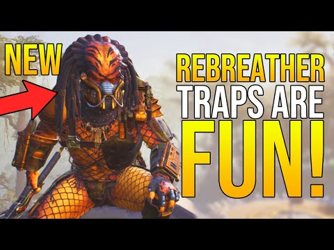 """City Hunter REBREATHER in Predator Hunting Grounds """"TRAPS & DAMAGE OVERTIME is FUN!"""" 