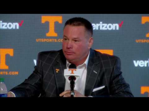 Tennessee Signing Day 2017 | Butch Jones Press Conference