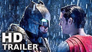 BATMAN VS SUPERMAN - Alle Trailer Deutsch German (2016)