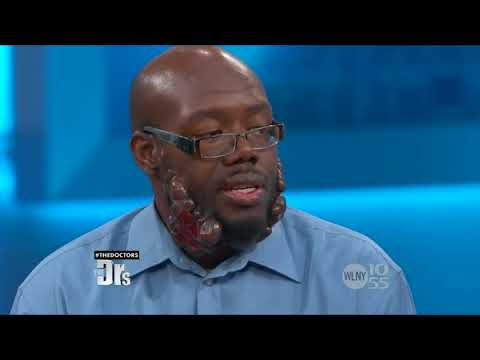 Lexington Plastic Surgeons Dr Michael Jones Helps Man with Keloids on The Doctors   Part 1