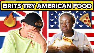 Brits Try American Food (Supercut)