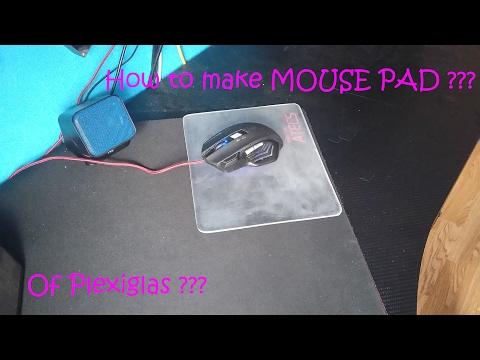 DIY : How to make  light mouse pad? / Kako napraviti svjetlecu podlogu za mis?