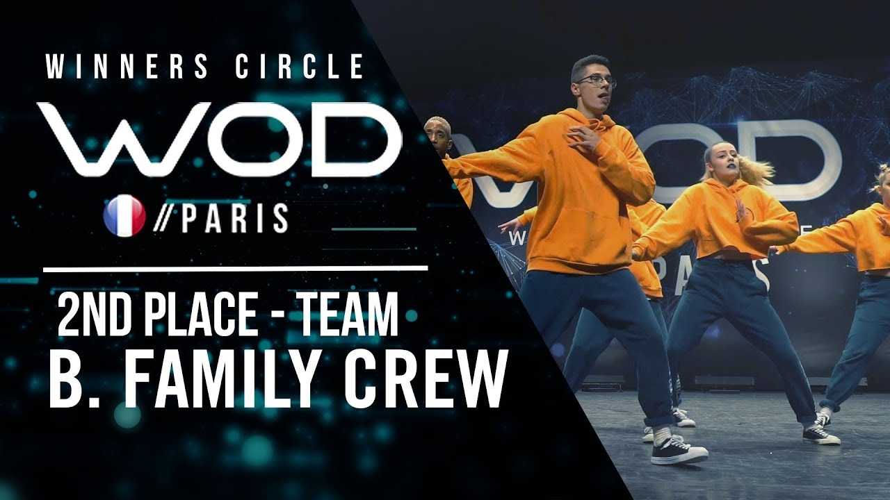 B. Family Crew   2nd Place Team Division   World of Dance ...