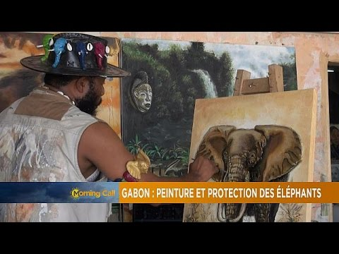 Gabon: Protecting elephants through paintings [The Morning Call]