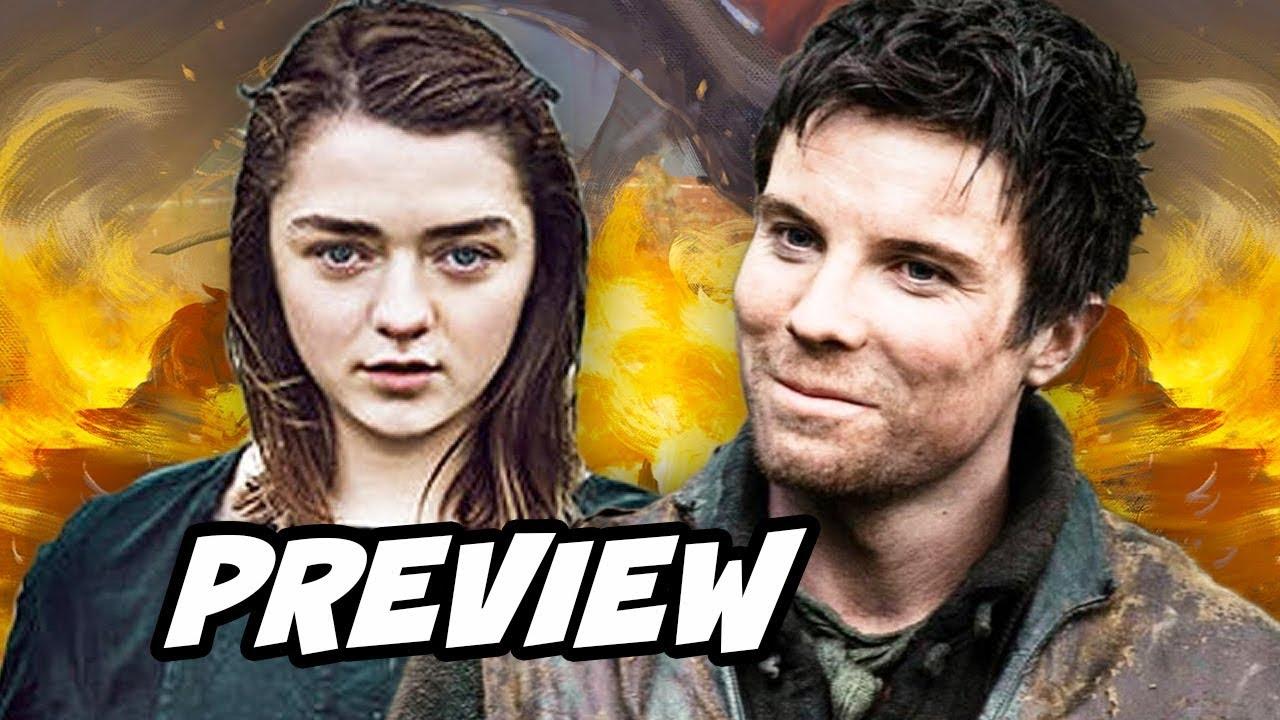Game Of Thrones Season 8 Gendry And Arya Stark Preview Breakdown