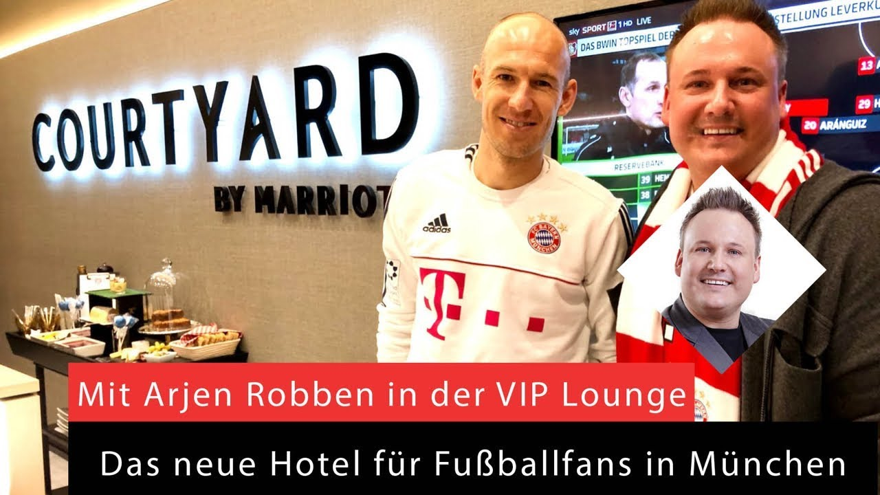 Arjen Robben Allianz Arena Fc Bayern Munchen Bundesliga Hotel Marriott Loge